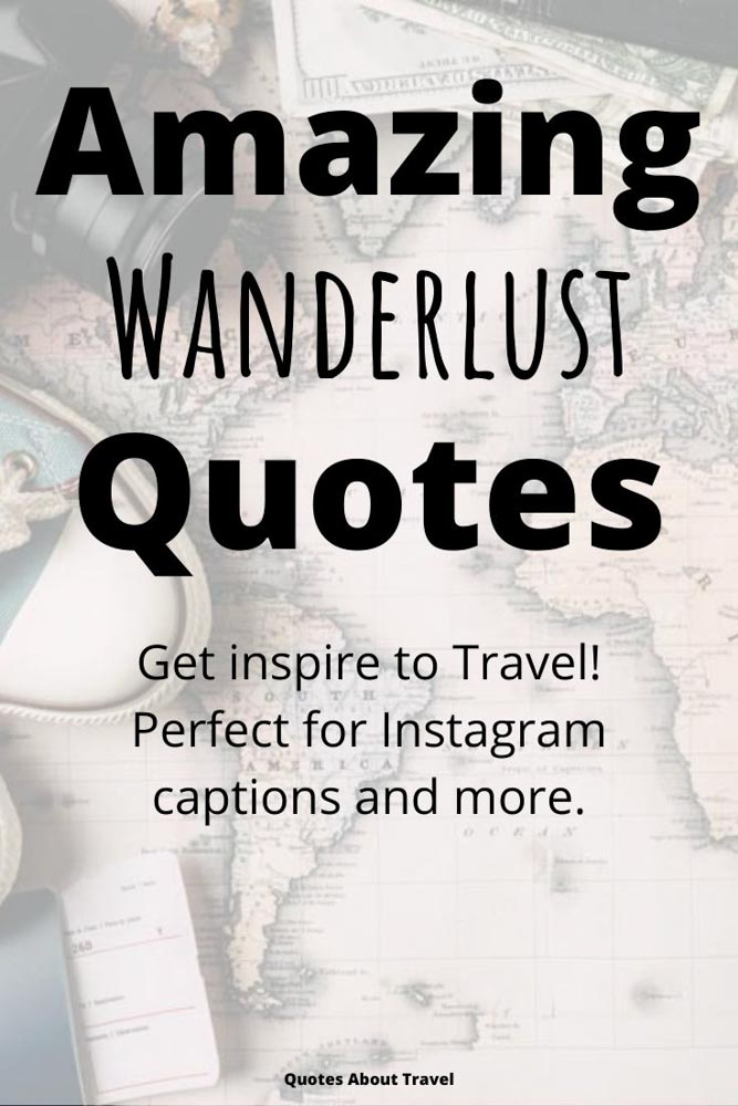 Wanderlust Travel Quotes